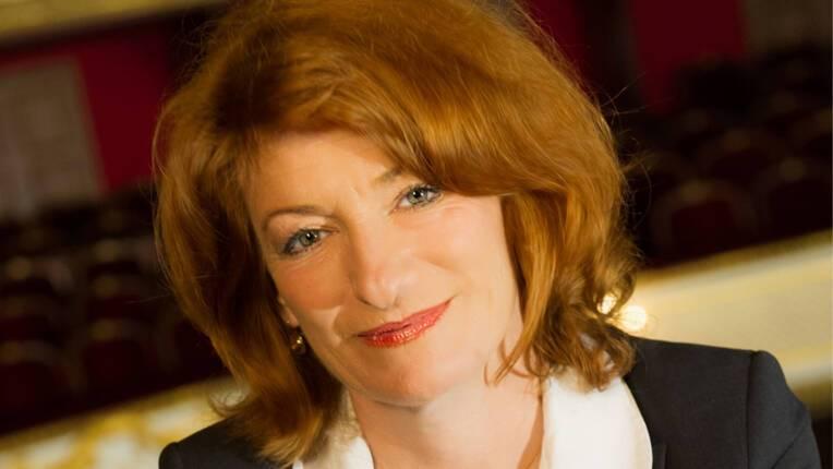 Muriel Mayette-Holtz, administratrice générale de la Comédie-Française