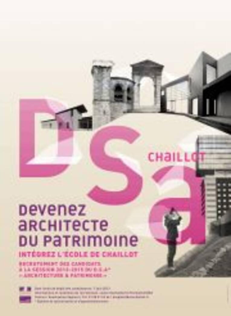 DSA de l'Ecole de Chaillot - Session 2013-2015