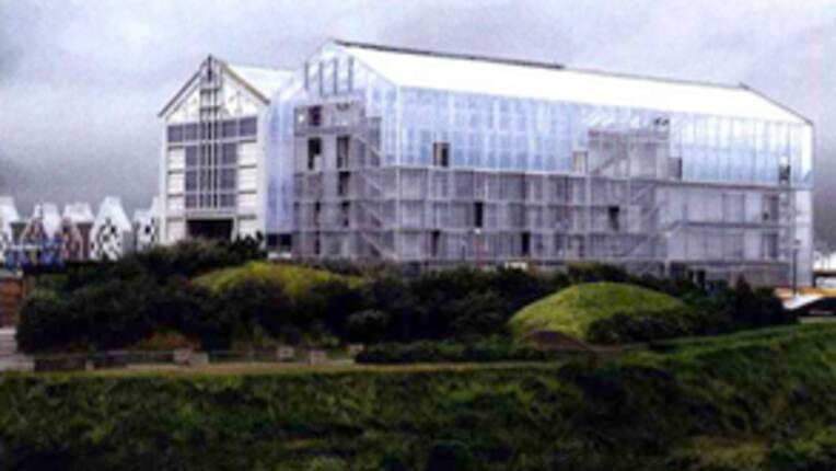 [30 ans des Frac] Un nouveau bâtiment à Dunkerque