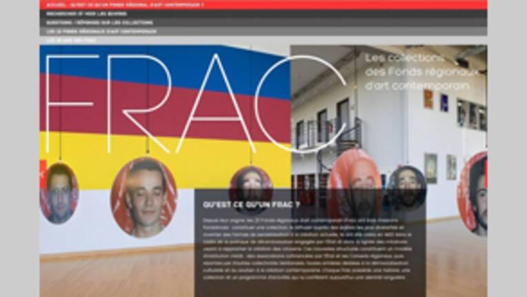 Mise en ligne du portail des collections des FRAC