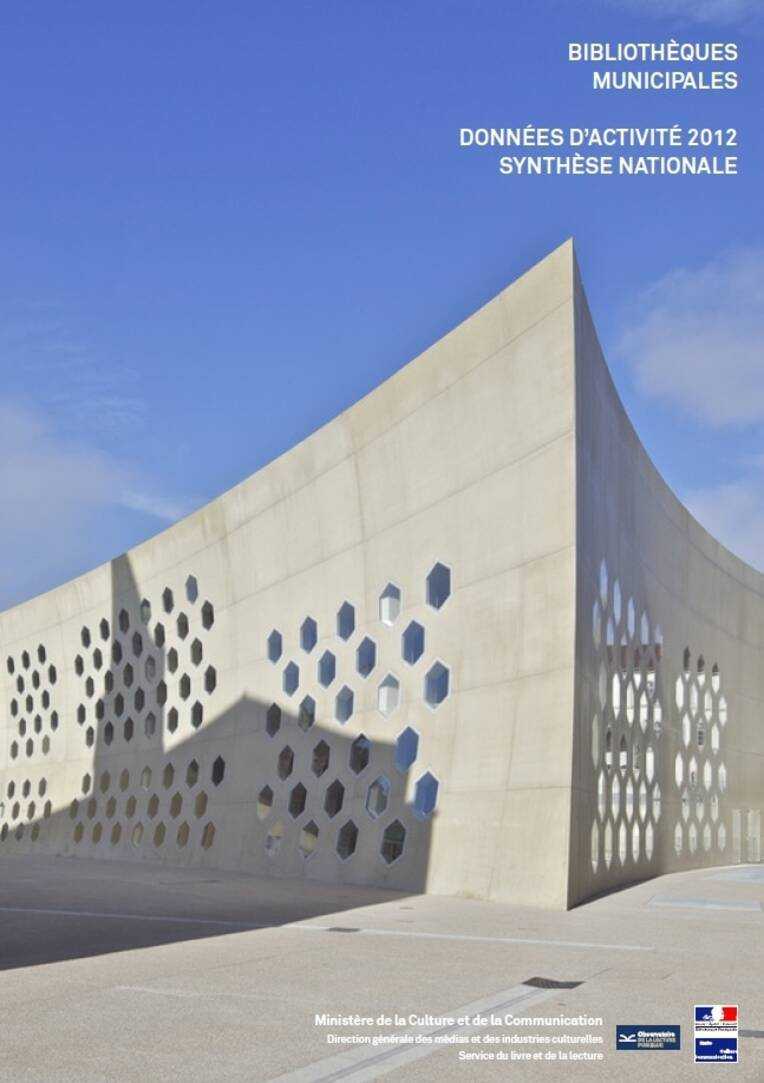 Données d'activité 2012 des bibliothèques municipales : synthèse nationale