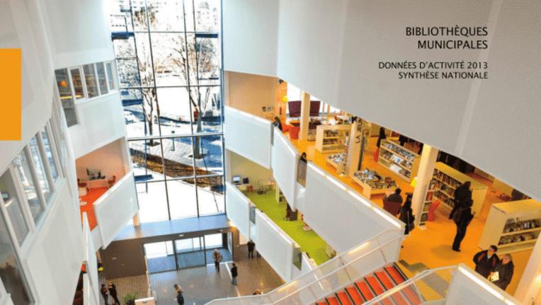 Bibliothèques municipales - Données d'activité 2013