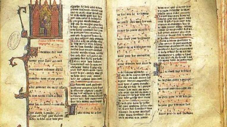 Fin du XIIIe siècle. Médiathèque d'Arras