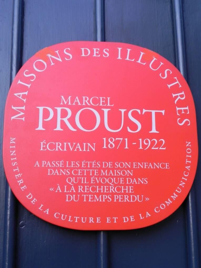 """Plaque """"Maison des Illustres"""""""
