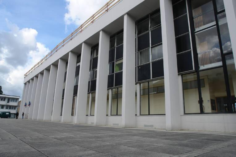Label patrimoine du XXe siècle - Façade Hôtel de Ville de Mézières - Charleville-Mézières