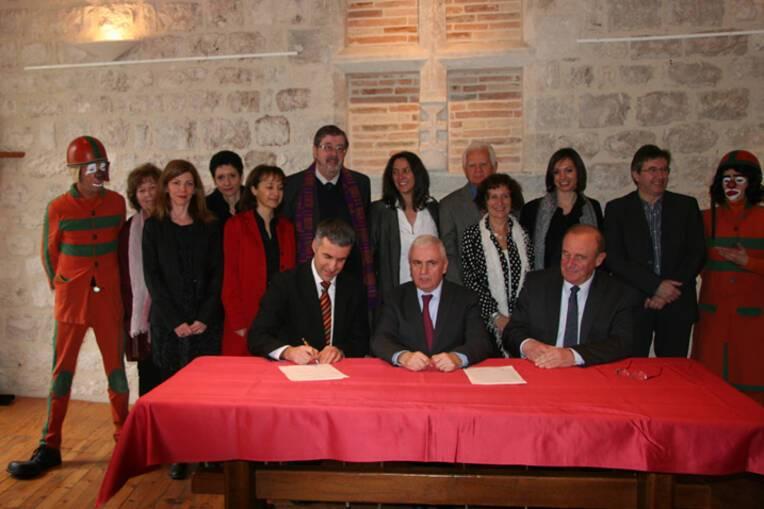 Signature de la convention Territoire Culture à Montcuq