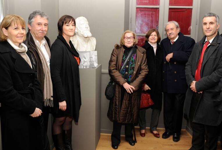 Inauguration de l'Espace Jaurès à Pampelonne