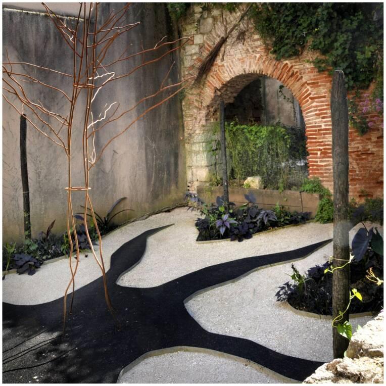 Les jardins secrets, Cahors