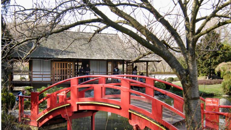 Jardin japonais du parc de Compans-Caffarelli, Toulouse