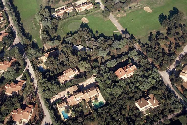 Ville Seynave - Grimaud, vue aérienne