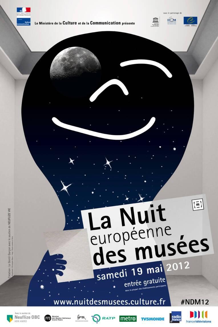 La nuit européenne des musées, samedi 19 mai 2012, 8e édition