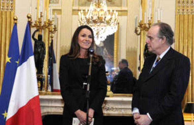 Aurélie Filippetti, nommée ministre de la Culture et de la Communication