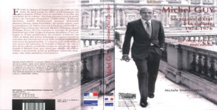 Michel Guy, secrétaire d'Etat à la culture (2007)
