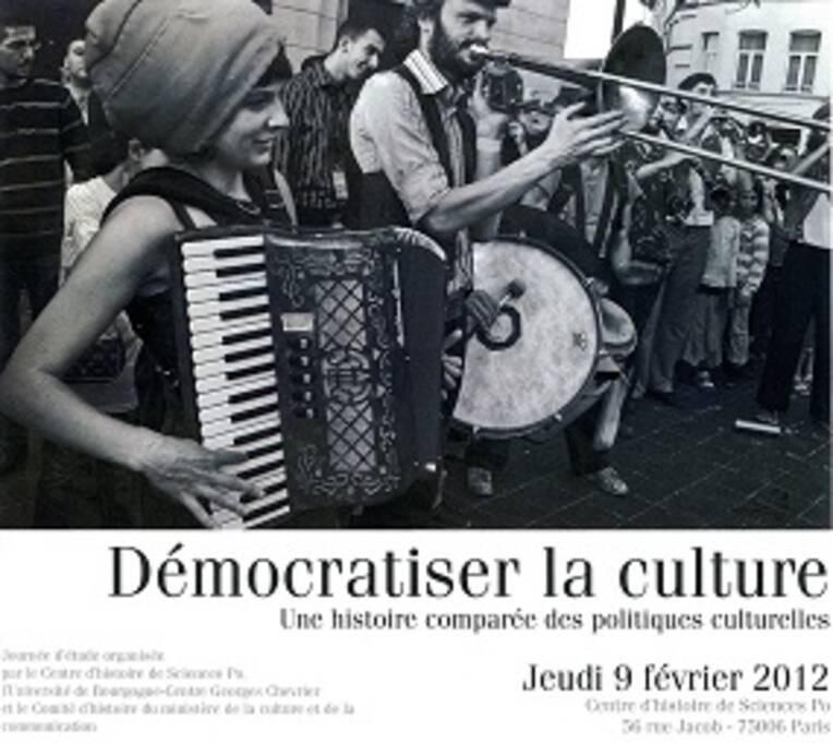 Démocratiser la culture. Une histoire comparée des politiques culturelles