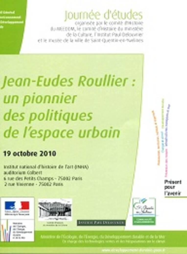 Jean-Eudes Roullier : un pionnier des politiques de l'espace urbain