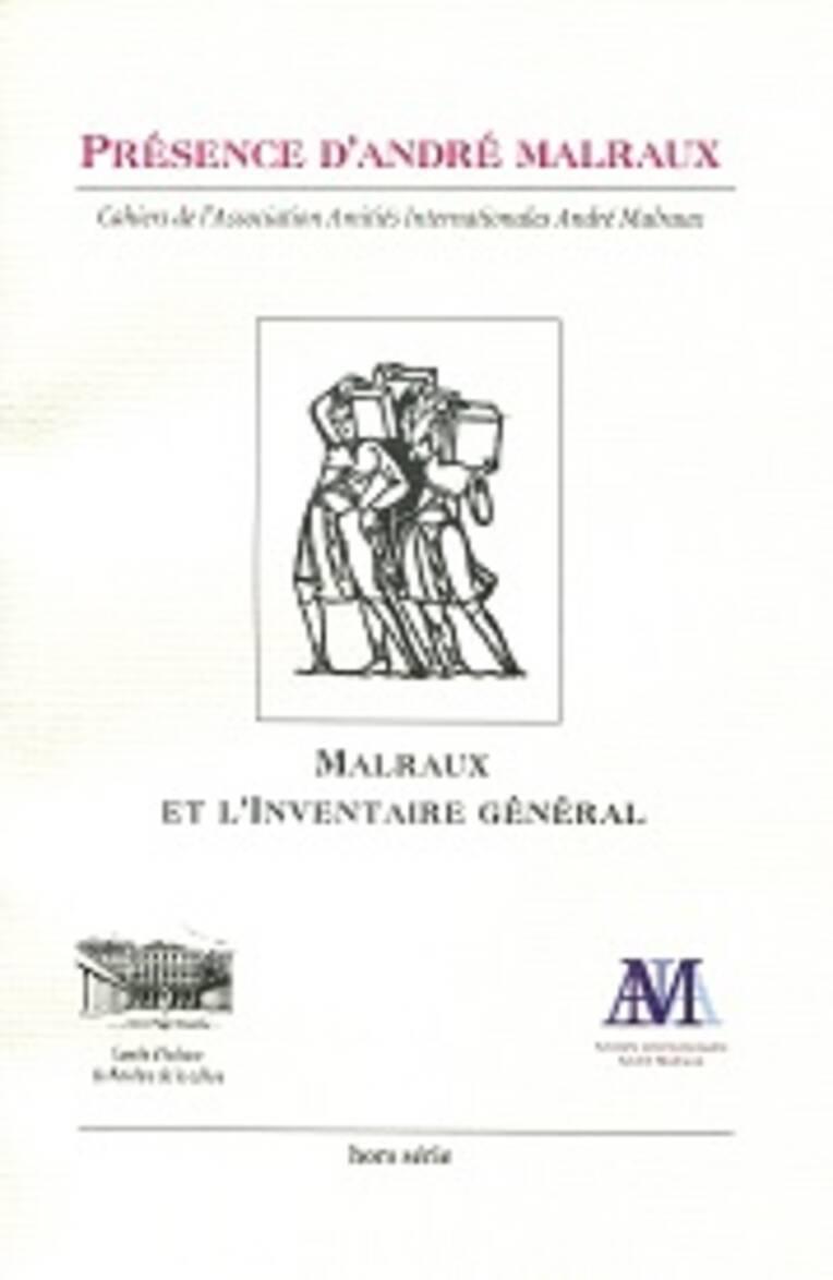 André Malraux et l'Inventaire général