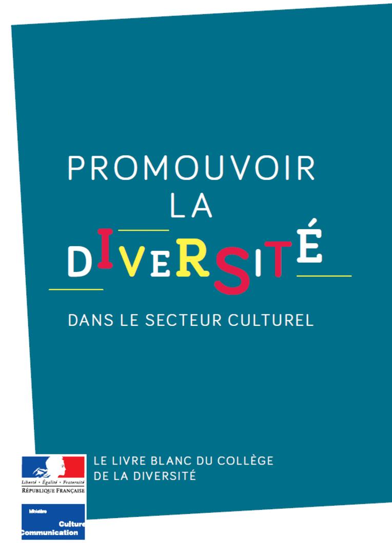 Promotion de la diversité dans le secteur culturel : le livre blanc du Collège de la diversité