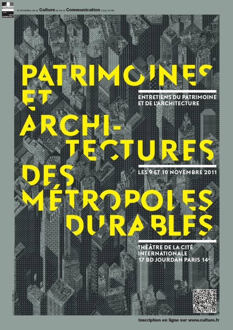 Affiches architectures métropoles durables
