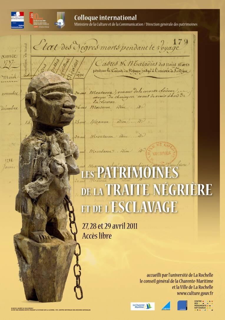 Les patrimoines de la traite négrière et de l'esclavage