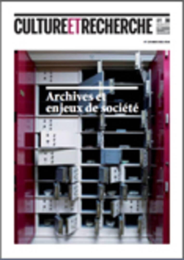 Archives et enjeux de société