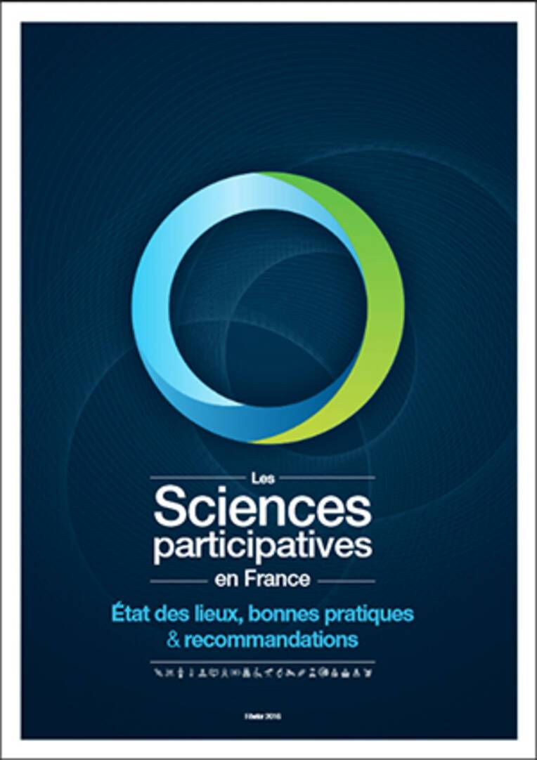 couverture du rapport Les sciences participatives en France