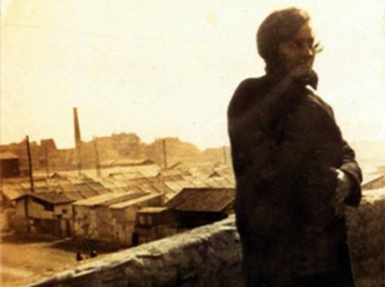 Photographie ancienne du camp Oddo à Marseille, refuge d'immigrés arméniens entre 1922 et 1927.