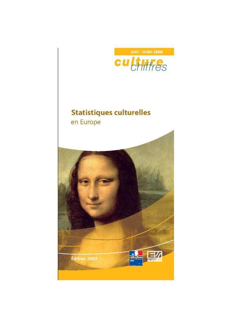 Statistiques culturelles en Europe