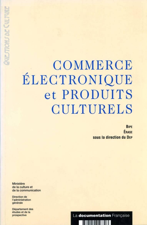 Commerce électronique et produits culturels