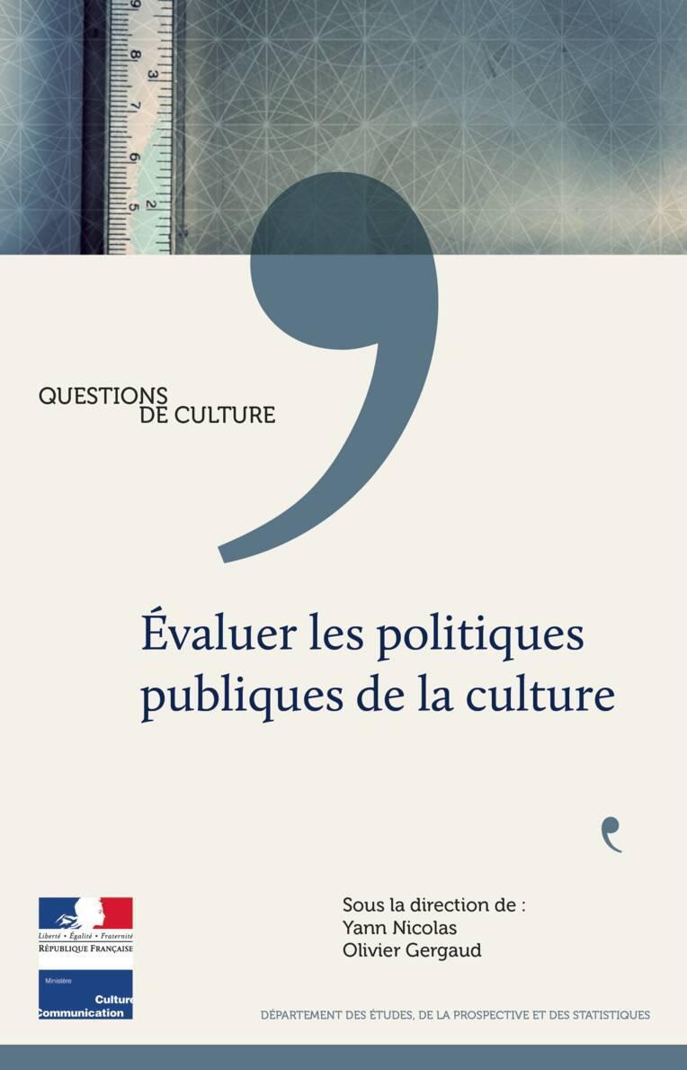 Évaluer les politiques publiques de la culture
