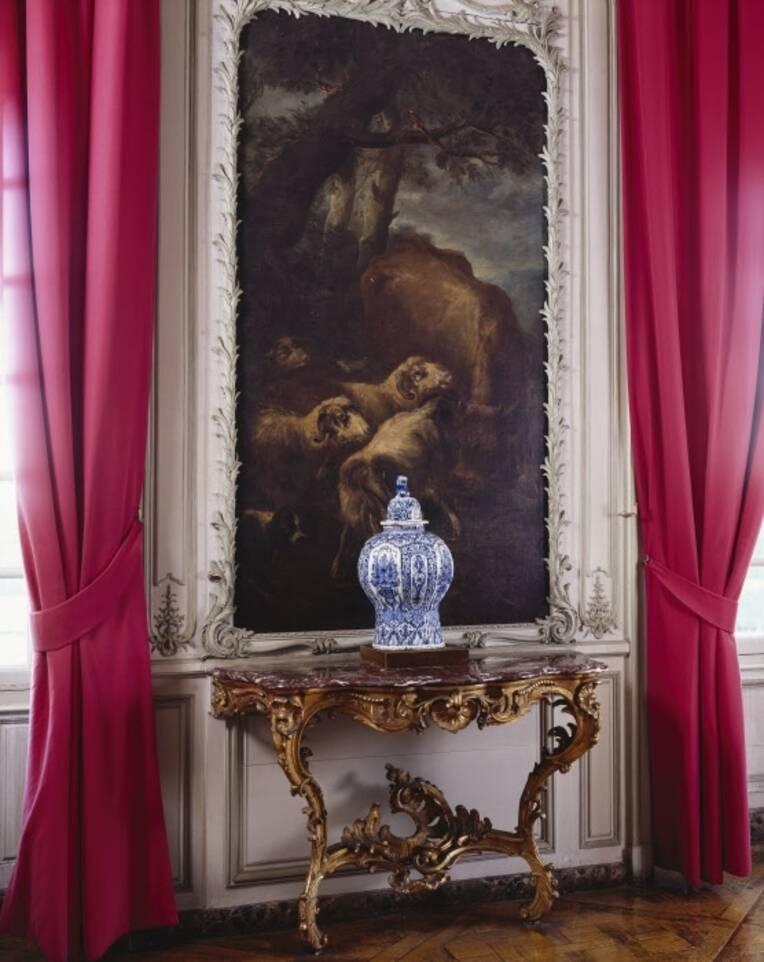 La Fondation BNP Paribas soutient la restauration d'un ensemble décoratif conservé au château de Champs-sur-Marne