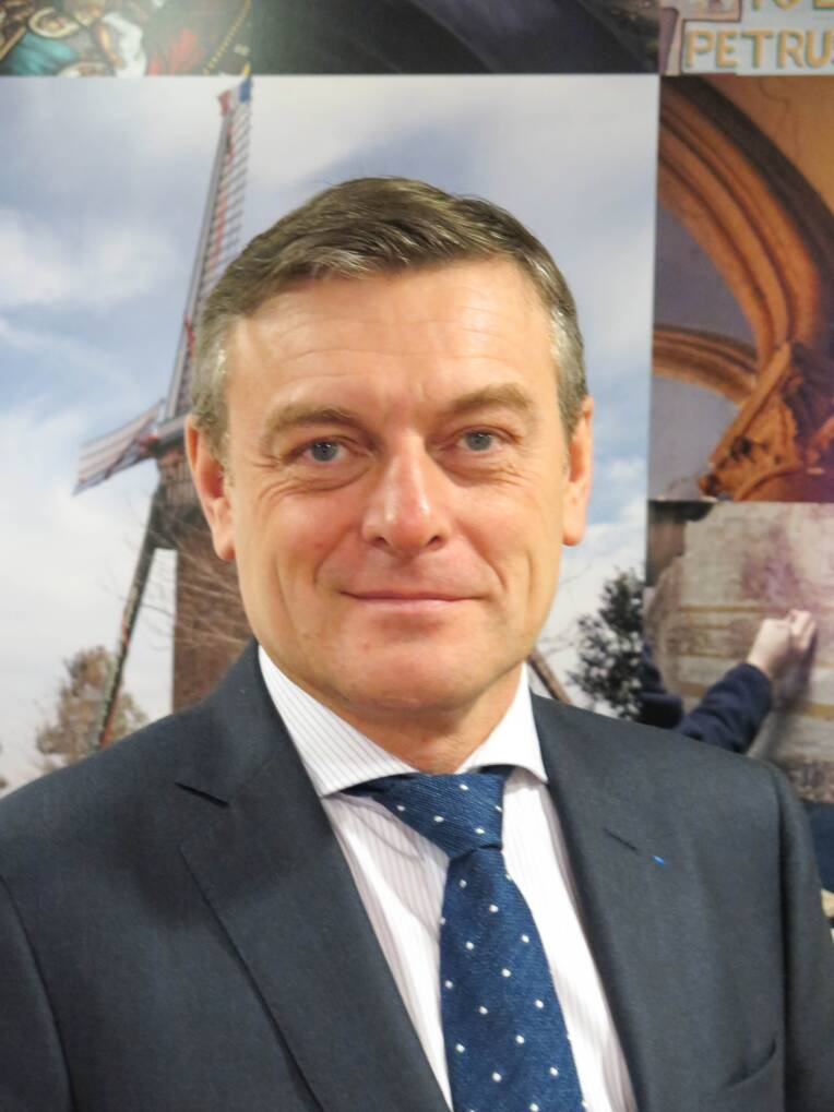 Nomination de François-Xavier Bieuville, directeur général de la Fondation du Patrimoine