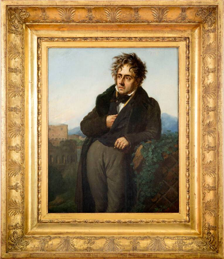 Portrait de Chateaubriand, Girodet © CD92/Willy Labre
