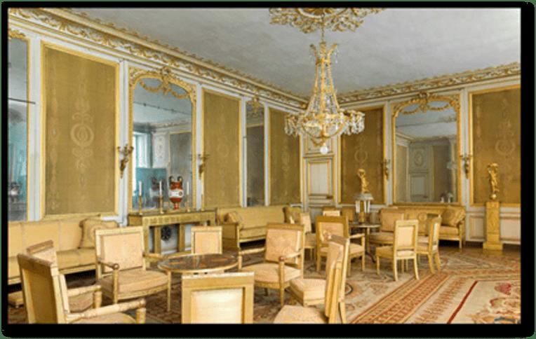 La Fondation du patrimoine, mécène du Salon Jaune du château de Fontainebleau