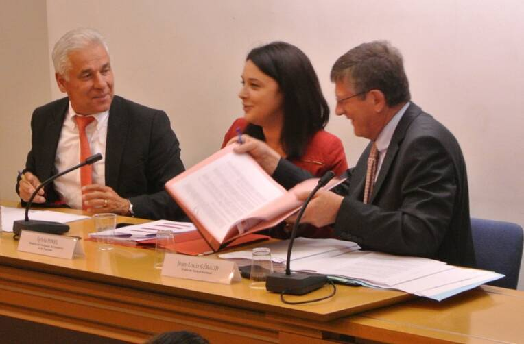 Signature de la convention CCI Montauban et Tarn-et-Garonne
