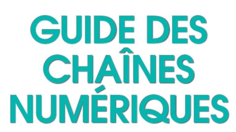 Couverture du guide des chaînes numériques 2017