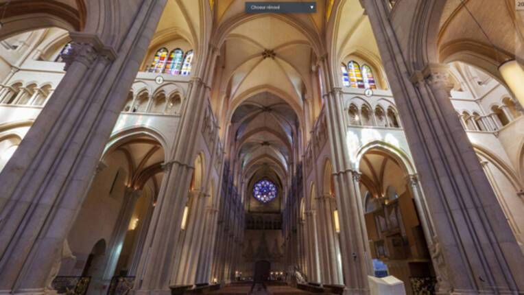 Cathédrale Saint-Jean-de Lyon - visite virtuelle 2017