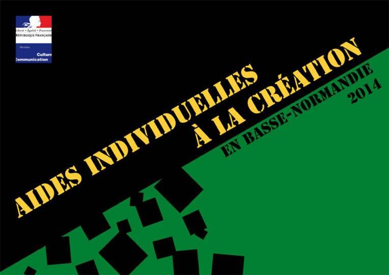 Aides individuelles à la création 2014