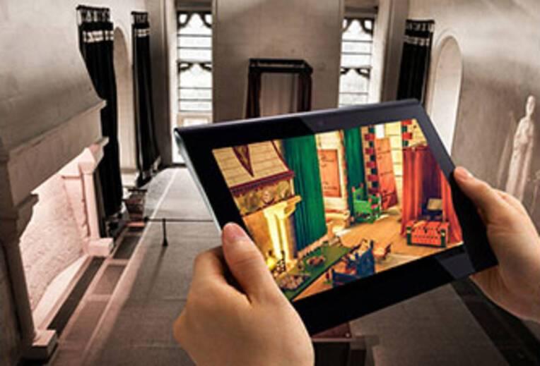 Un exemple de médiation du patrimoine : la visite virtuelle du château de Falaise