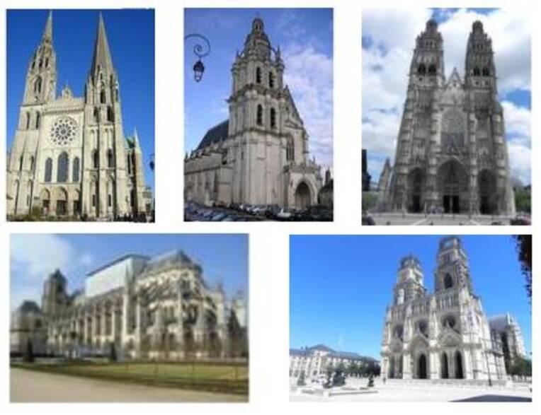 Les chantiers sur les cathédrales