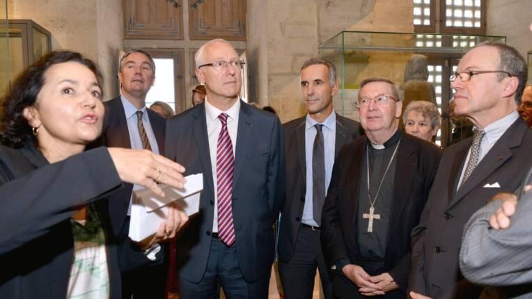 Inauguration du nouveau trésor de la cathédrale Sainte-Marie d'Auch