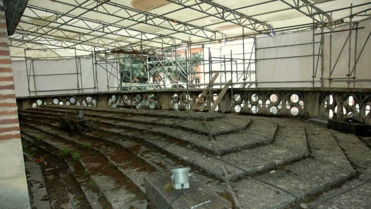 Restauration des parties hautes de la grande sacristie de la cathédrale de Toulouse