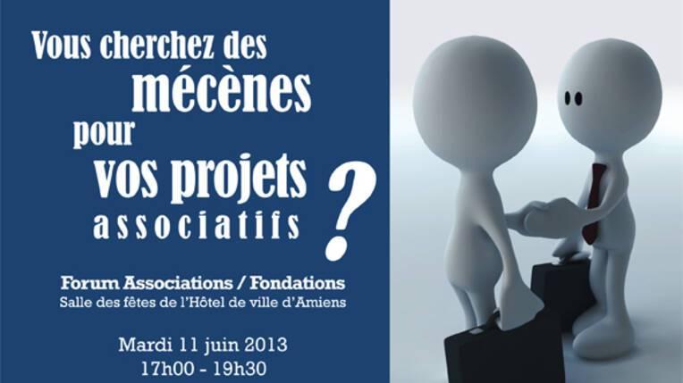 Forum associations / fondation du 11 juin 2013
