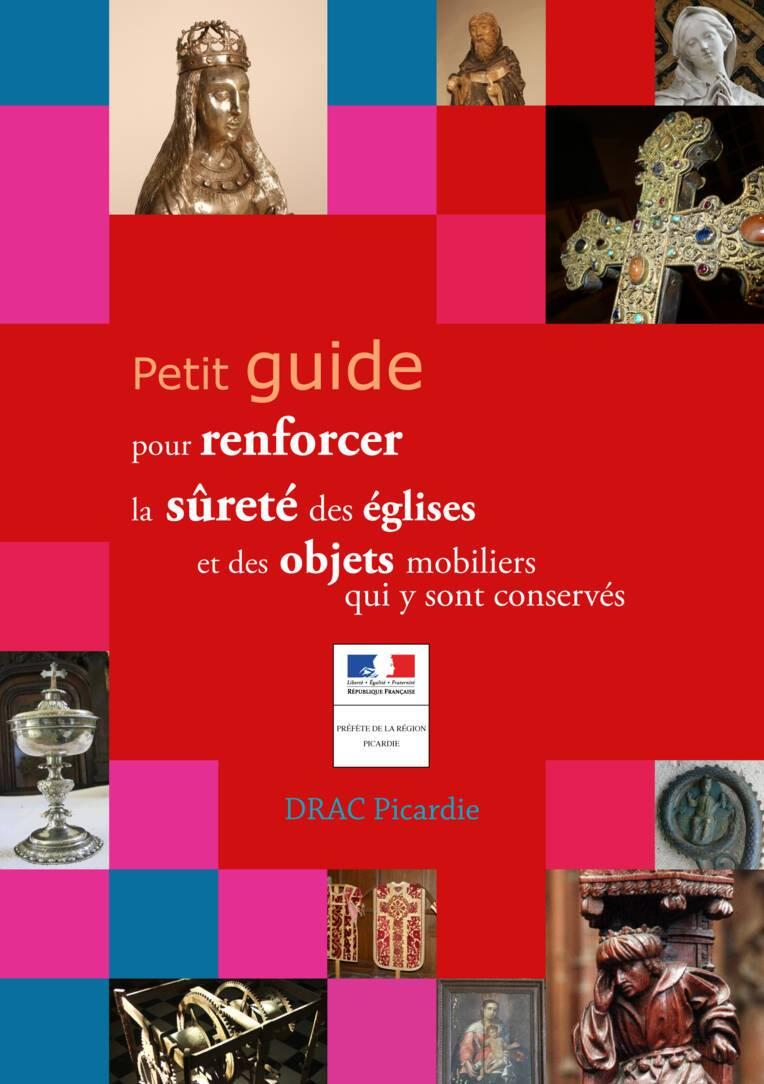 Page de couverture du petit guide pour renforecer la sûreté des églises