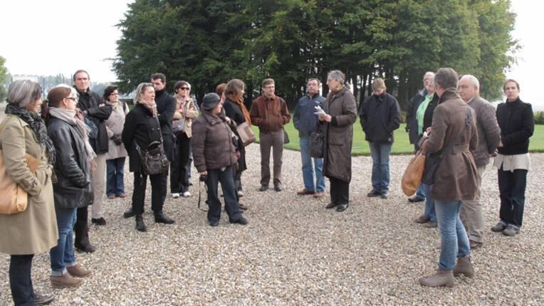 Visite de groupe à Thiepval (Somme)