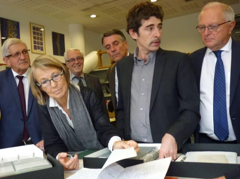 Françoise Nyssen à Limoges. 25.09.2017