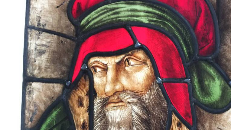 Première étape de la restauration des vitraux d'Arnaut de Moles. Cathédrale d'Auch