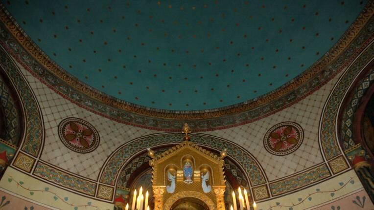 Chapelle d'axe restaurée