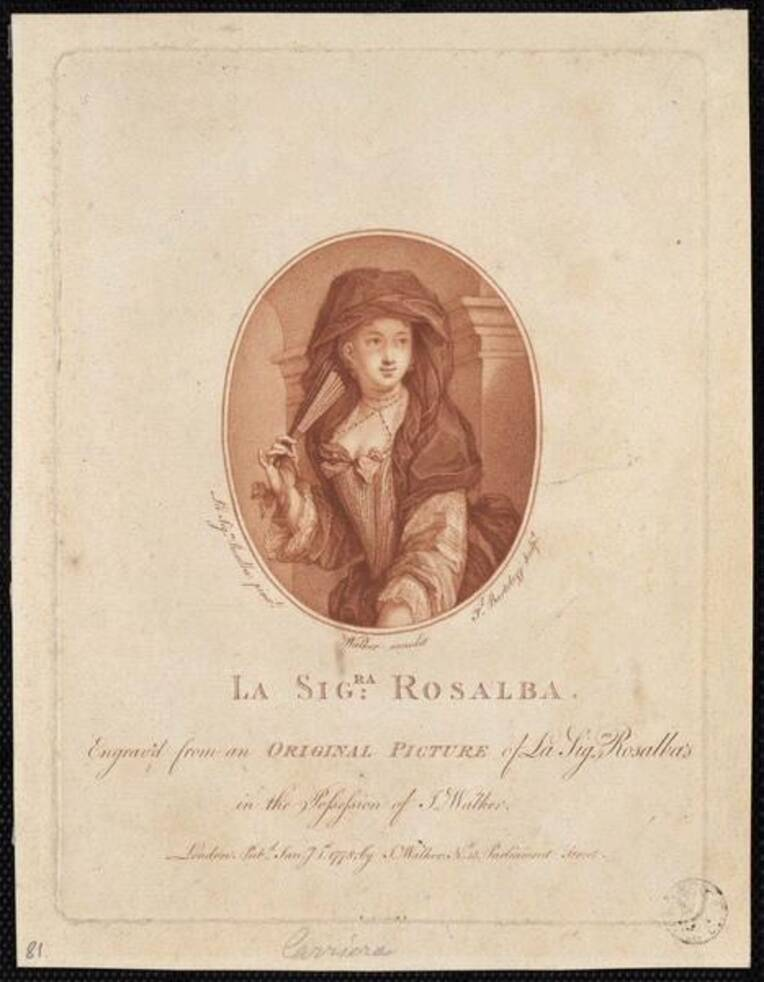 Carriera Rosalba