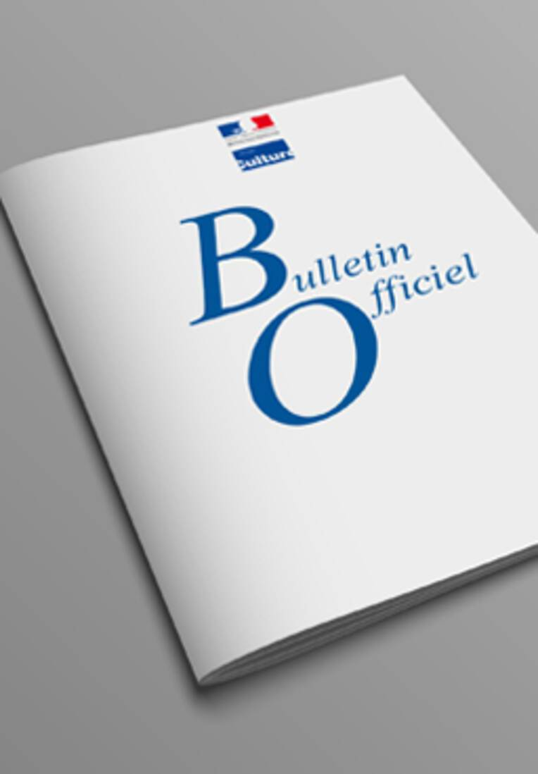 Bulletin officiel n° 109 (septembre-octobre 1998)