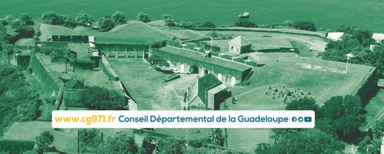 Vue du Fort Delgrès